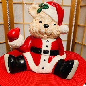 1990 HOUSE OF LLOYD CHRISTMAS MR SANTA BEAR MUSIC